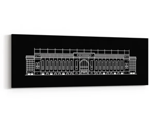 Image of Ibrox Main Stand Canvas - Choose from 3 Colours