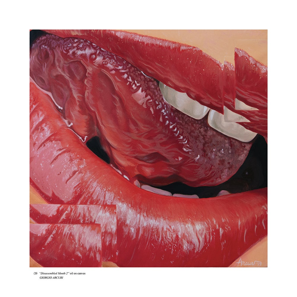 "Image of ""Disassembled Mouth 2"" Limited Edition Print"