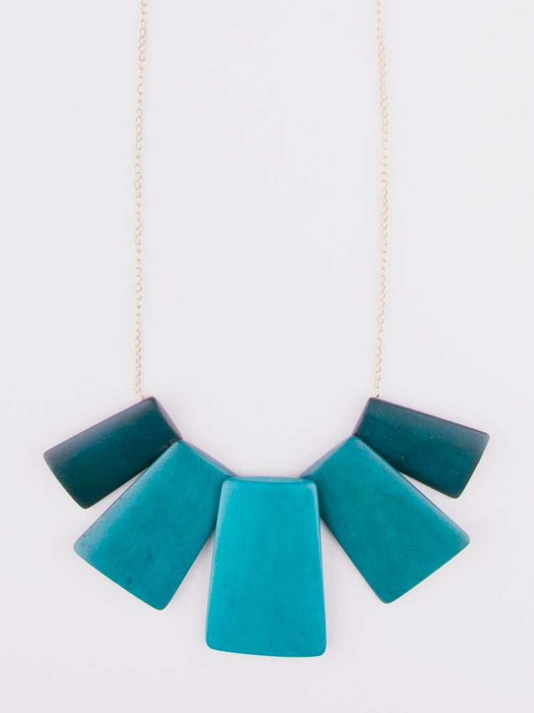 Image of Voyager Necklace - Teal