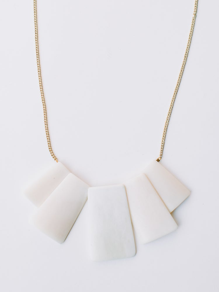 Image of Voyager Necklace - white