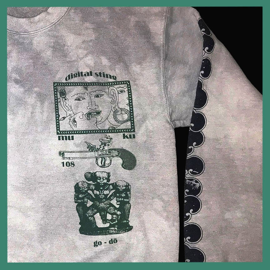 Image of Gateless Gate Sweatshirt Grey Smoke
