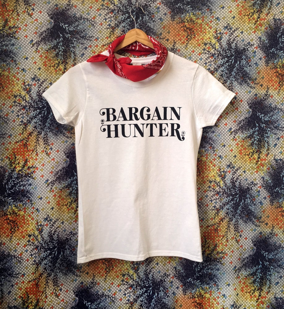 Image of Bargain Hunter Tee - Ladies