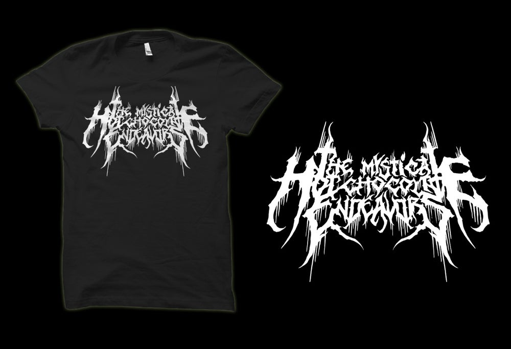 Image of Black Metal Logo Shirt