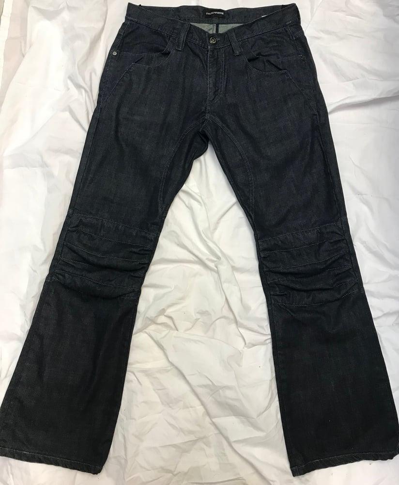 Image of Emporio Armani Moto Biker Men's Jeans