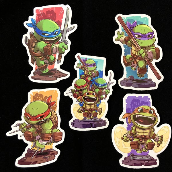 Image of Cowabunga 5 Premium Sticker Pack!