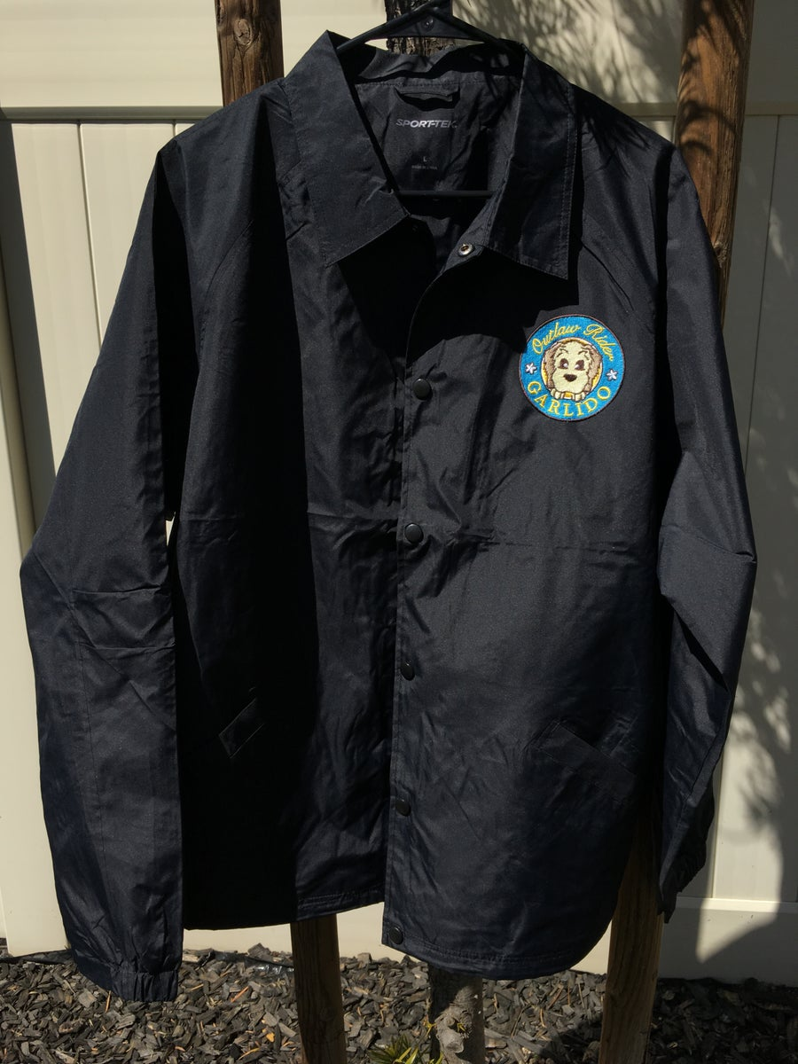 Image of 'Outlaw Rider' Embroidered Windbreaker