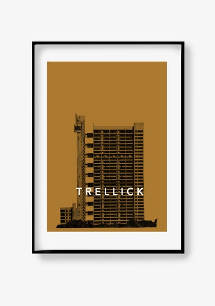 Image of Trellick Tower Poster