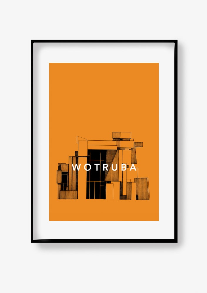 Image of Wotruba Poster