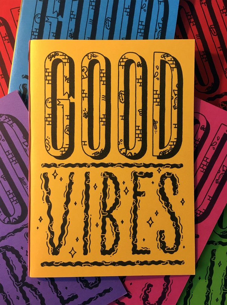 Image of Good vibes zine (A5)