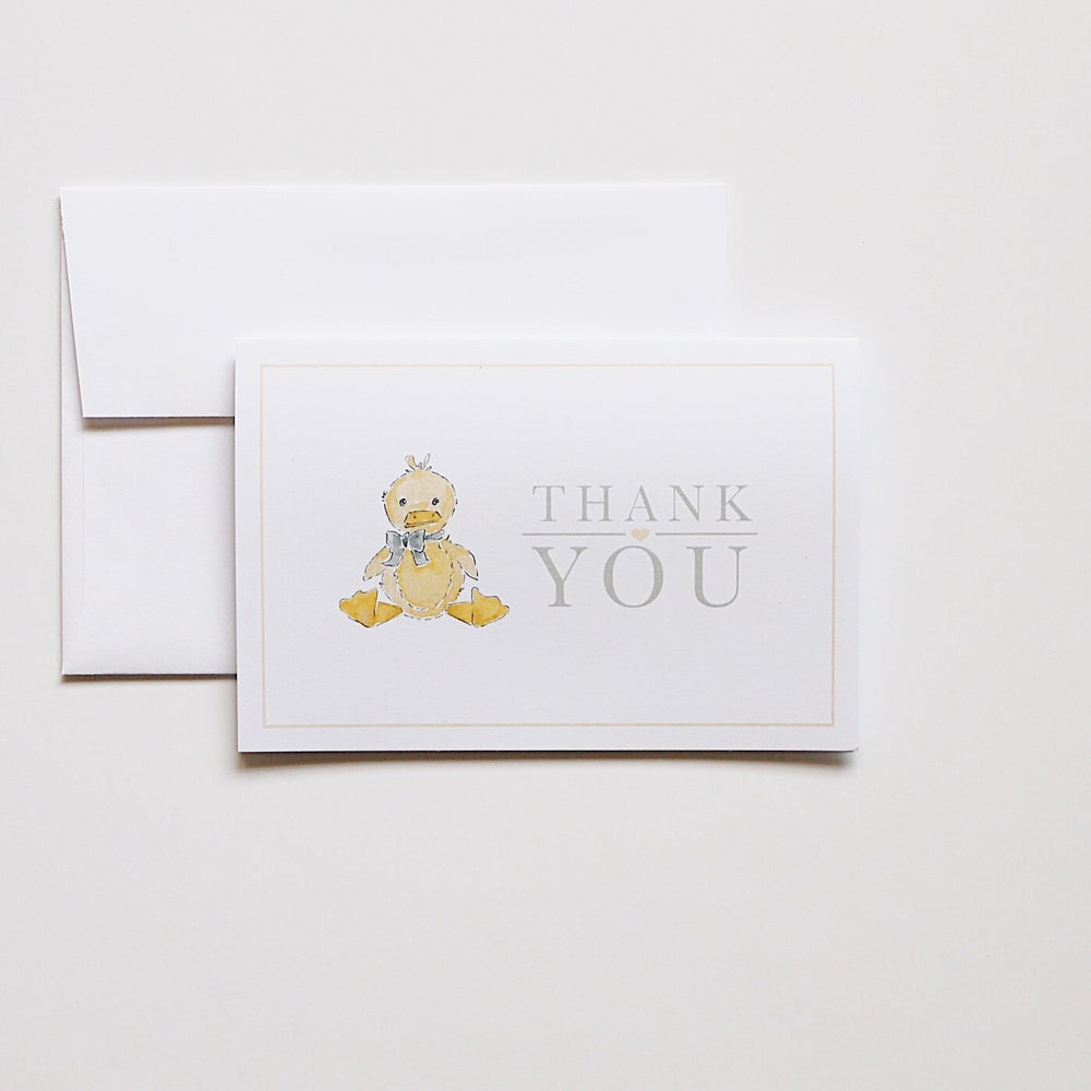 Image of Thank You Cards - Duck