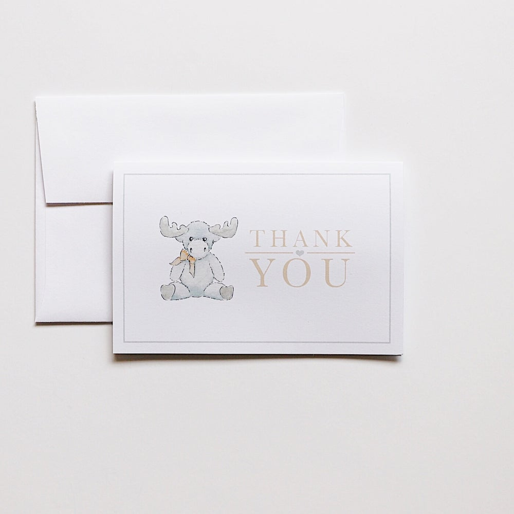 Image of Thank You Cards - Moose
