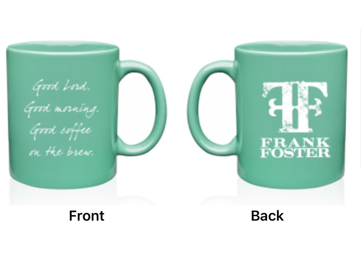 Image of FF Teal Coffee Mug