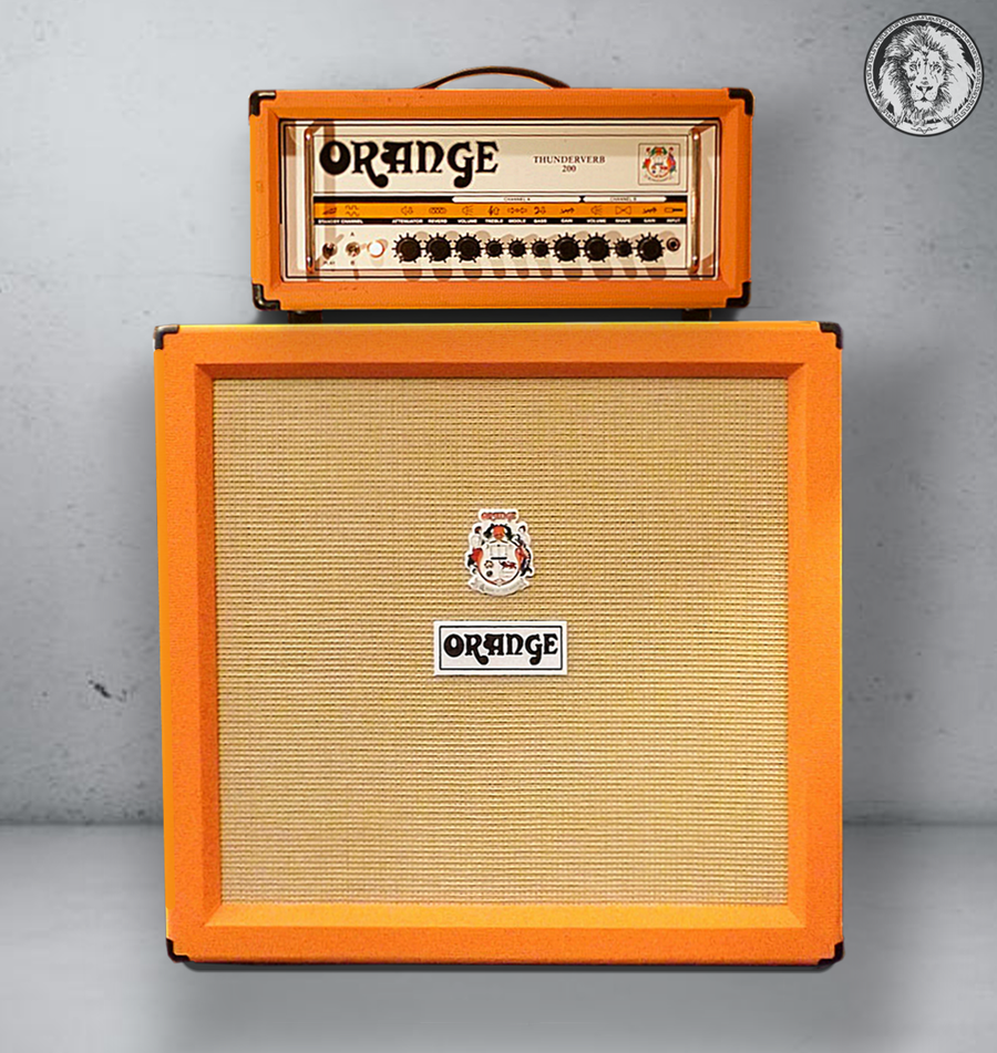 Image of Orange Thunderverb 200 Ultimate Kemper Profiles pack