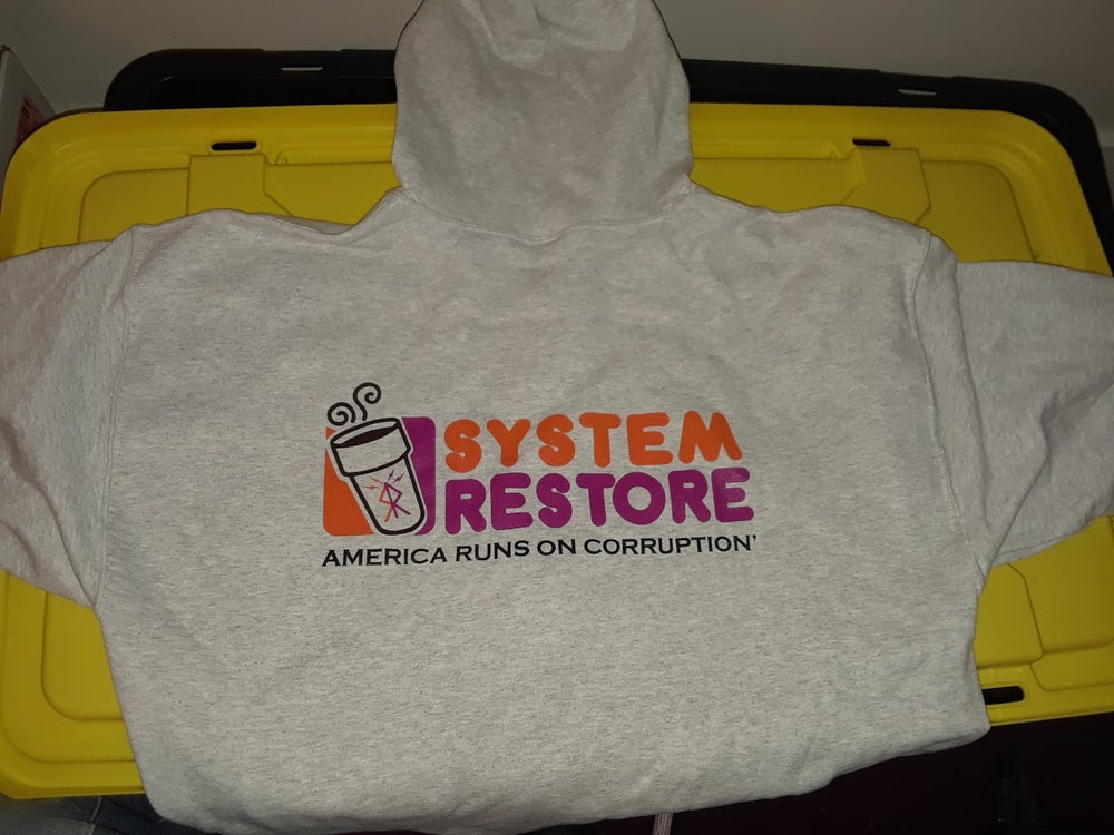 Image of System Restore Donut Hoodie
