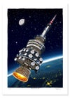 Telstra Tower in Space