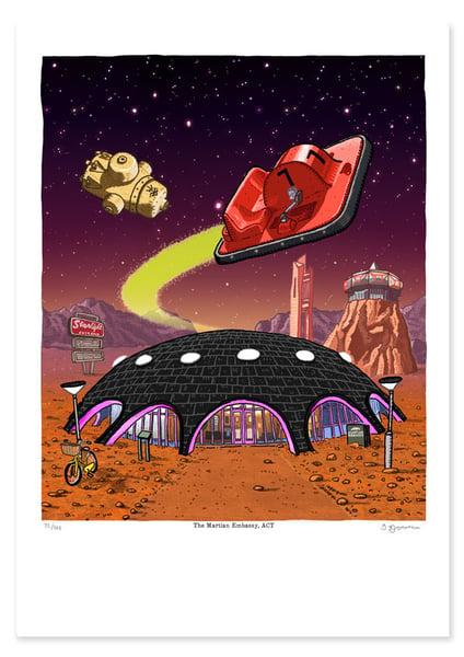 Image of Martian Embassy on Mars
