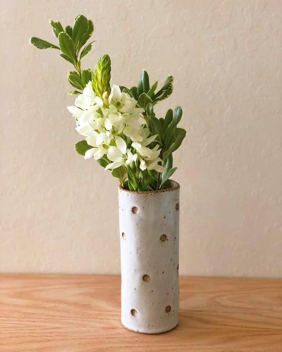 Image of Dotted Cylinder Vase