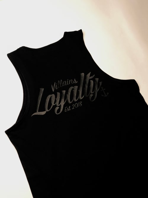 Image of VILLAINS LOYALTY MURDERED TANK