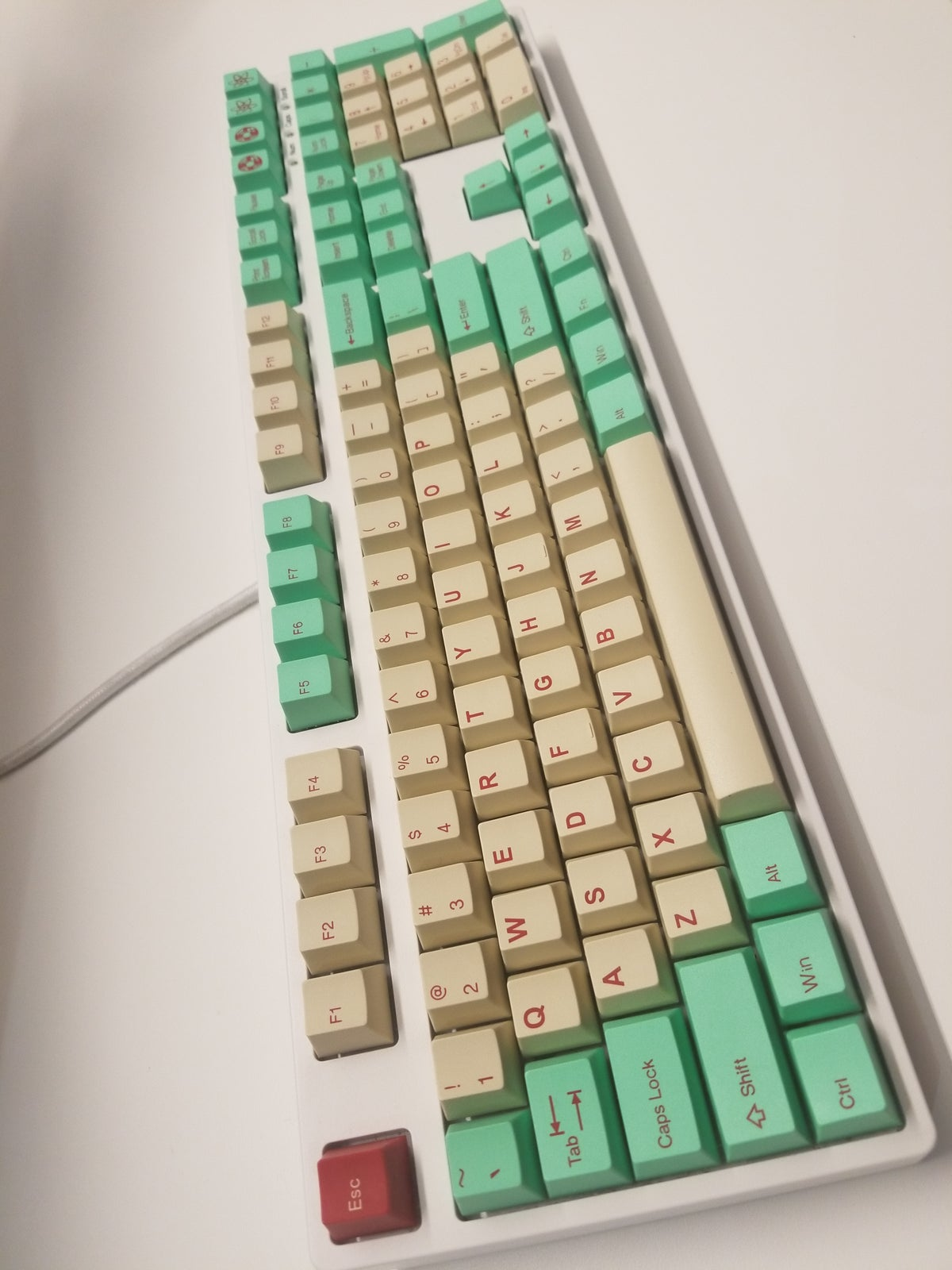 Image of JukeBox Doubleshot Keyset