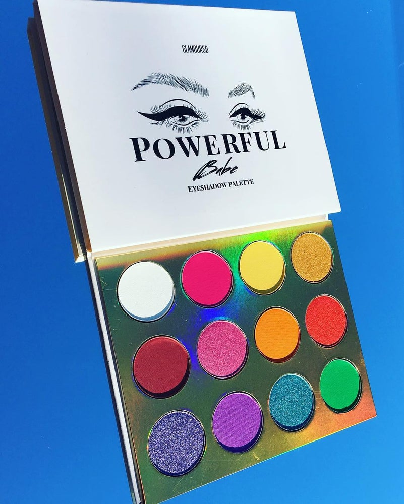 Image of NEW POWERFUL BABE EYESHADOW PALETTE