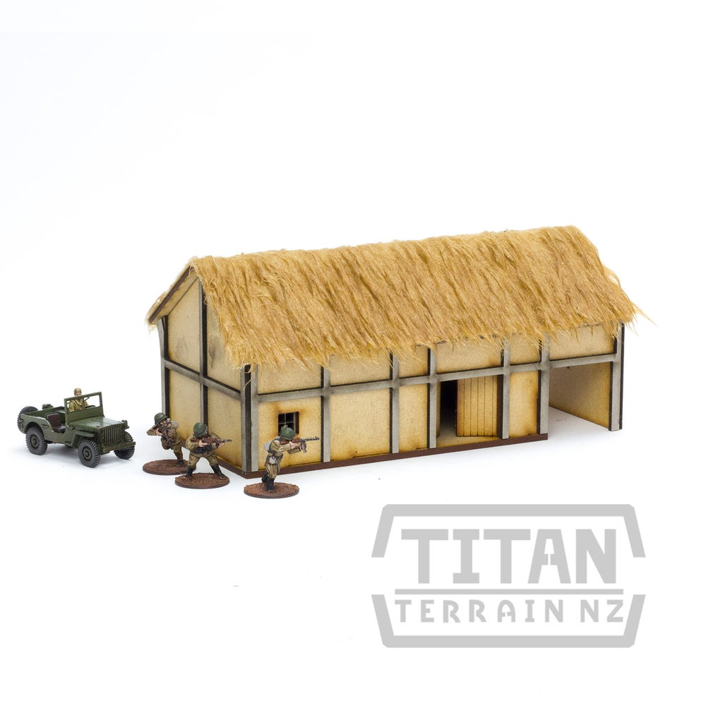 Image of Wattle and Daub Barn