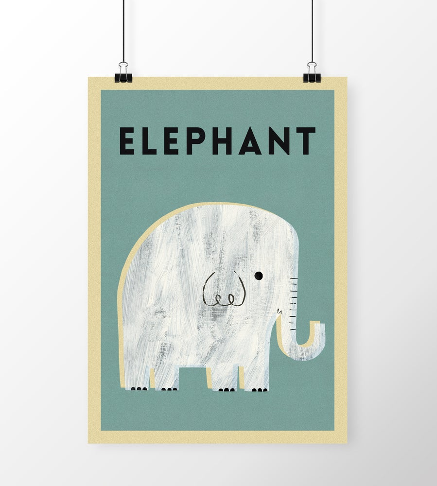 "Image of A3 ""ELEPHANT"" Print"