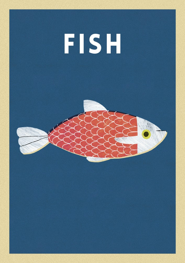 "Image of A3 ""FISH"" Print"