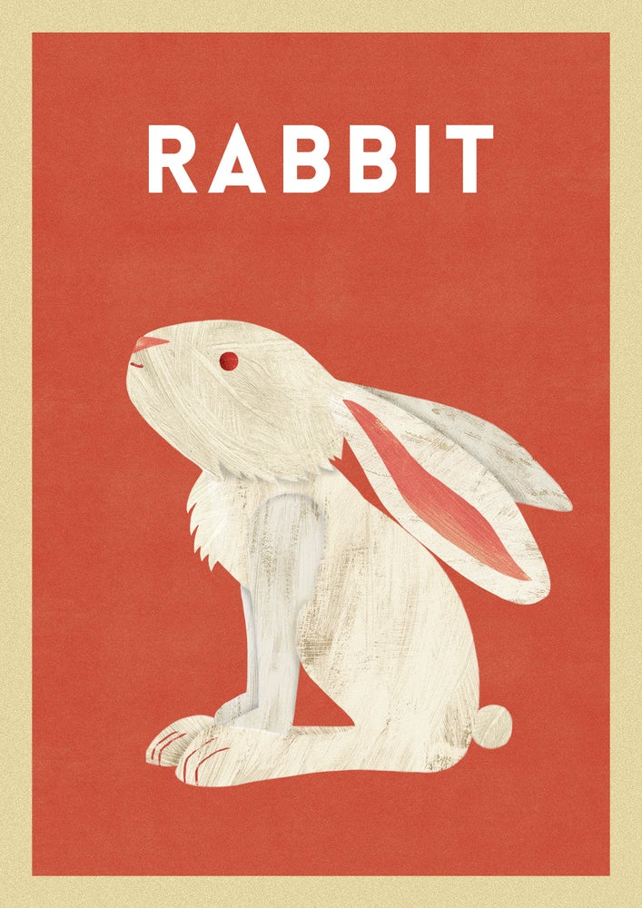 "Image of A3 ""RABBIT"" Print"