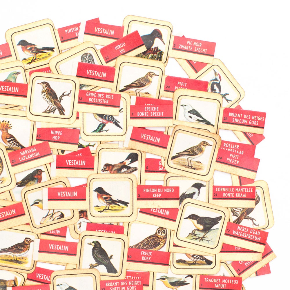 Image of Bird Cigar Bands - Set of 10