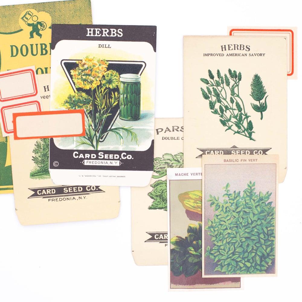 Image of Herb Garden Ephemera Collection