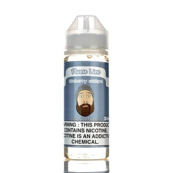 Image of Rip Trippers Plume Line Blueberry Custard 120ml