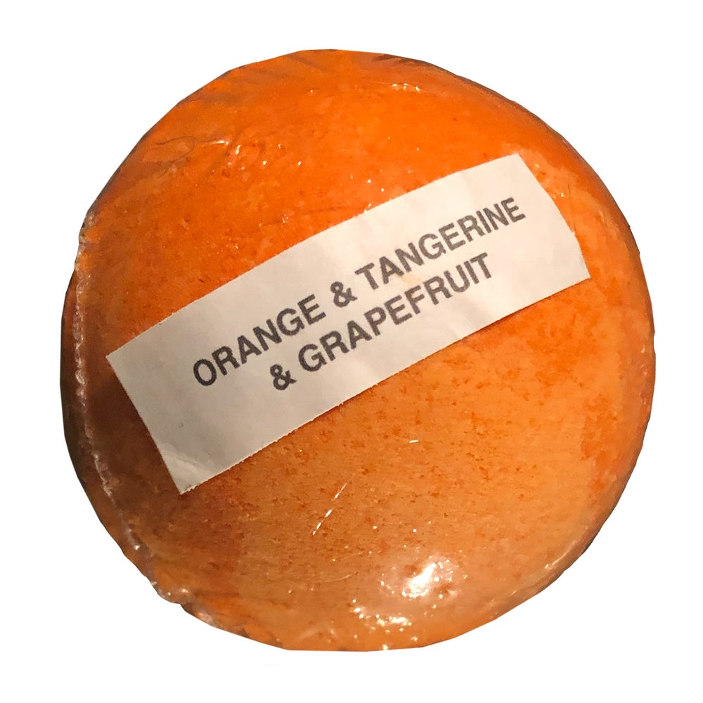 Image of LAST ONE!!! Orange, Tangerine & Grapefruit Bath Bomb