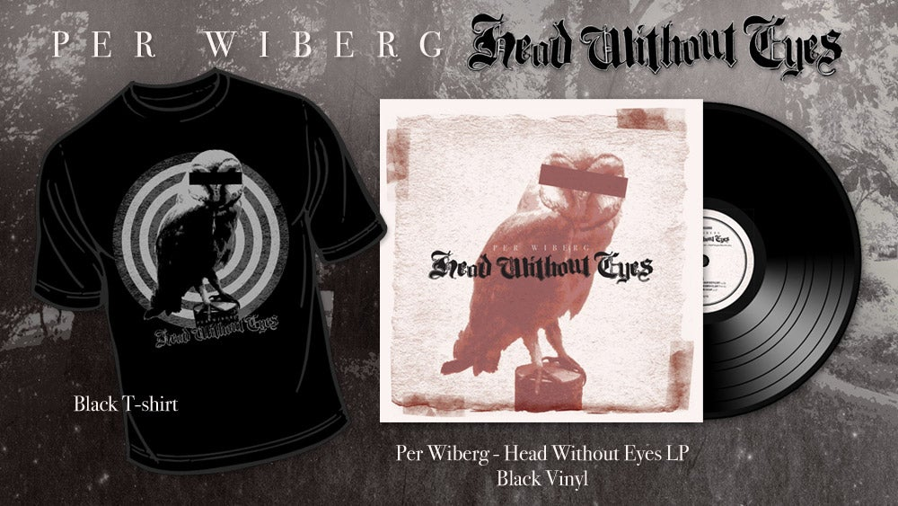 Image of Per Wiberg - Head Without Eyes Tee/LP Package