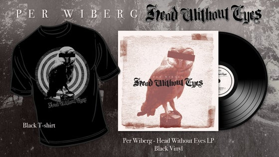 Image of Pre-Order Per Wiberg  - Head Without Eyes Tee/LP Package (T-Shirt, Vinyl)