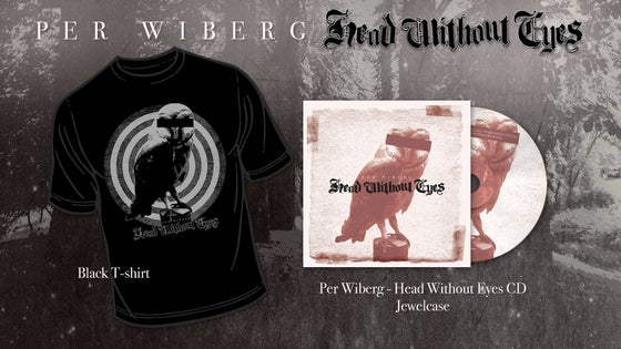 Image of Pre-Order Per Wiberg  - Head Without Eyes Tee/CD Package (T-Shirt, CD)