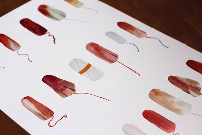 Image of Tampon Poster A3