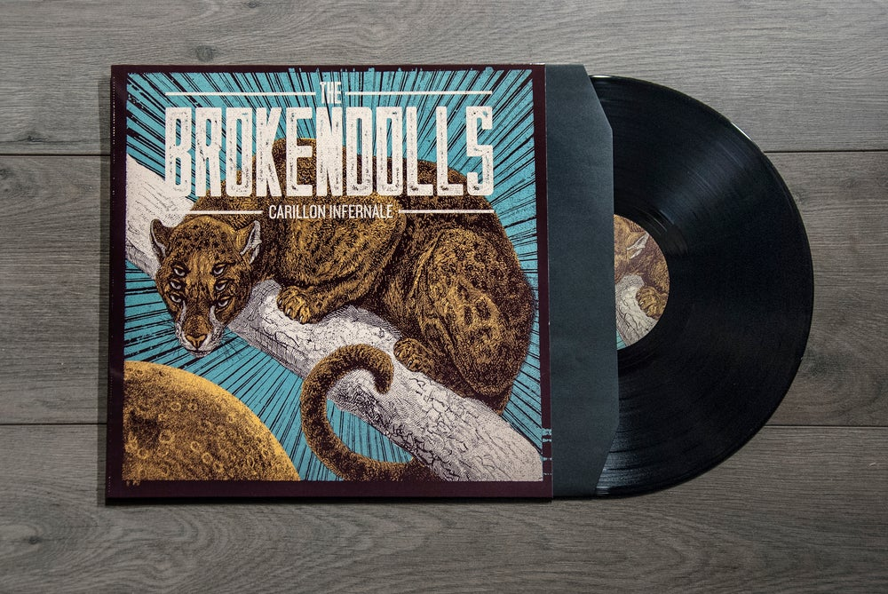 Image of THE BROKENDOLLS - CARILLON INFERNALE (LP VERSION)