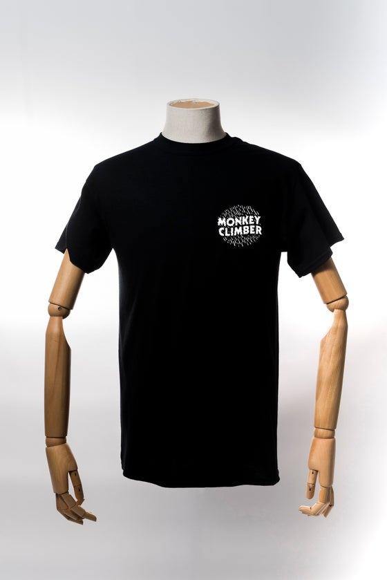Image of Monkey Climber Ink shirt I Black