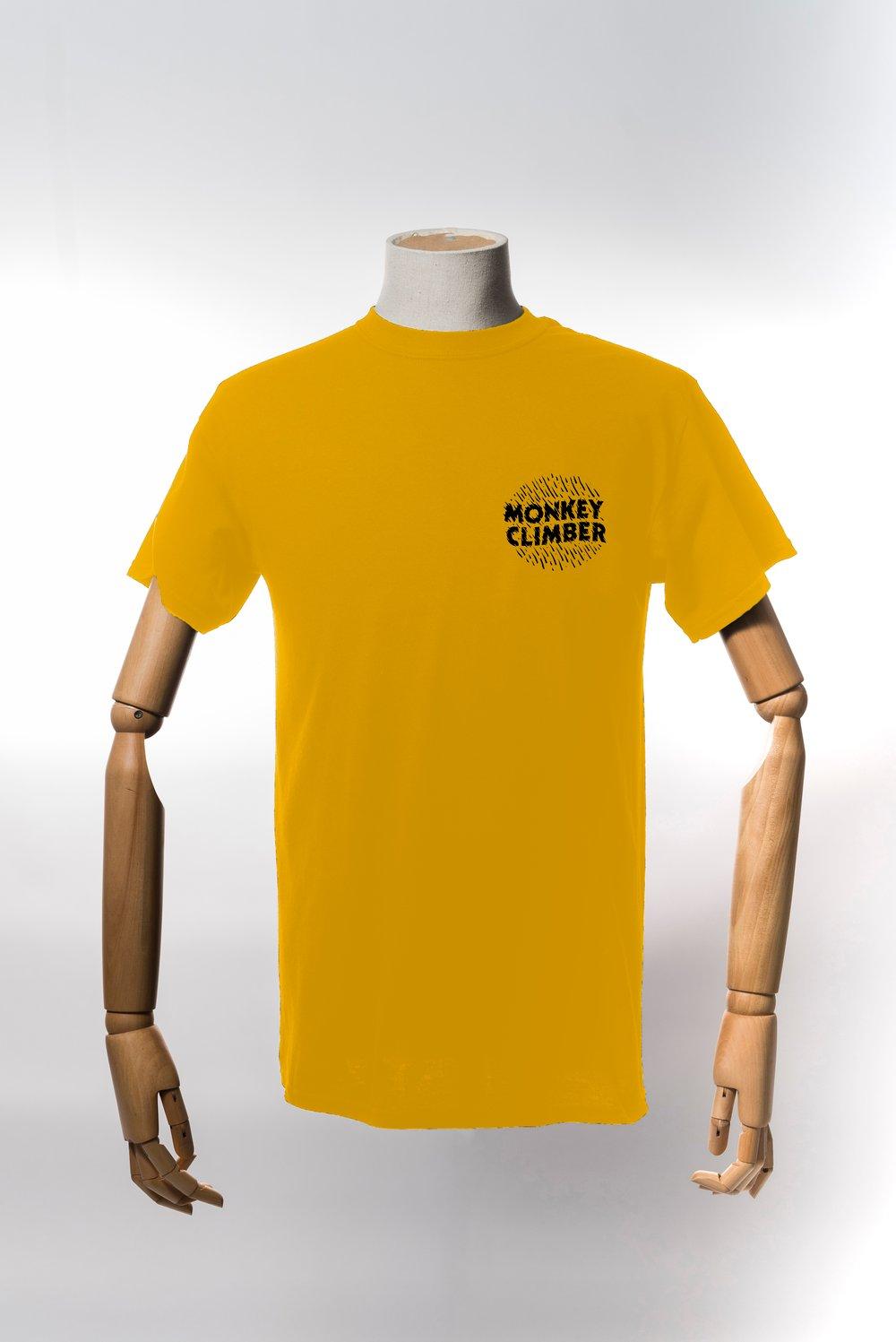 Image of Monkey Climber Ink shirt I Gold