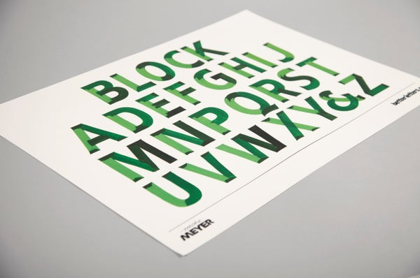 Image of Block Poster