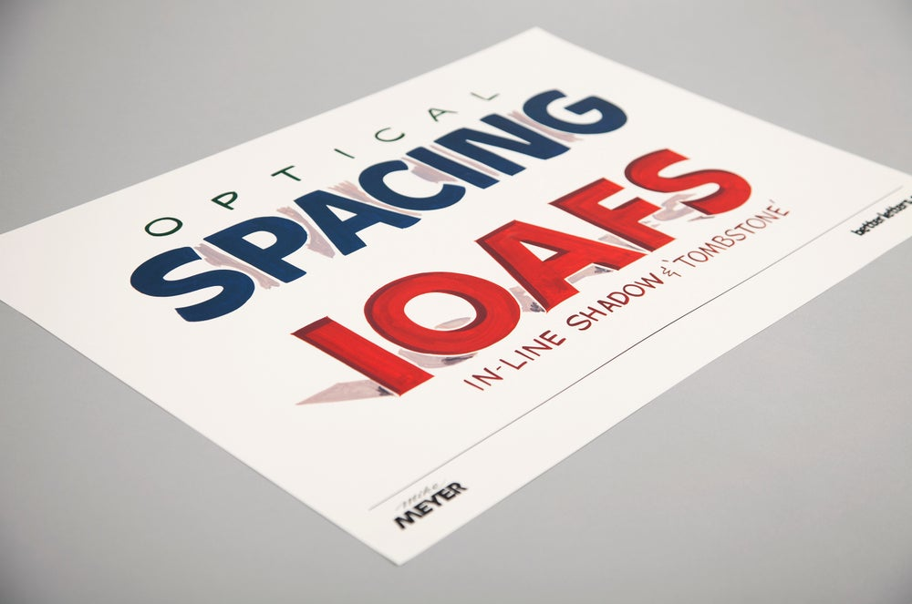 Image of Spacing Poster