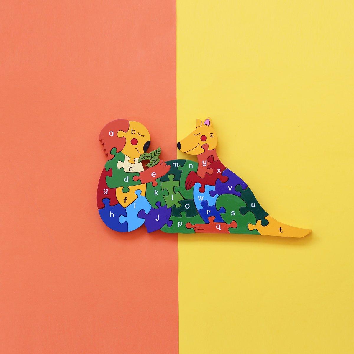 Image of Kangaroo/ Koala A-Z & 1-26