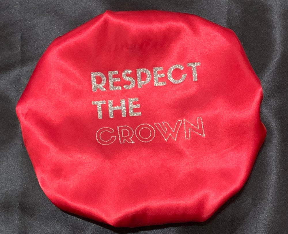 "Image of ""Respect The Crown"" Red"