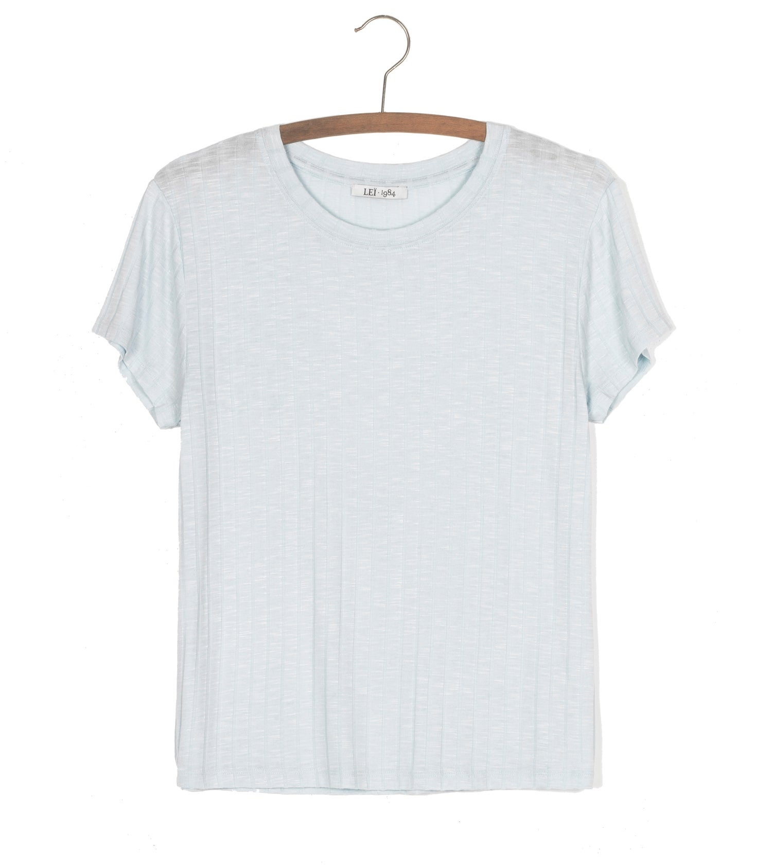 Image of Tee shirt côtes PRUNE 55€ -50%
