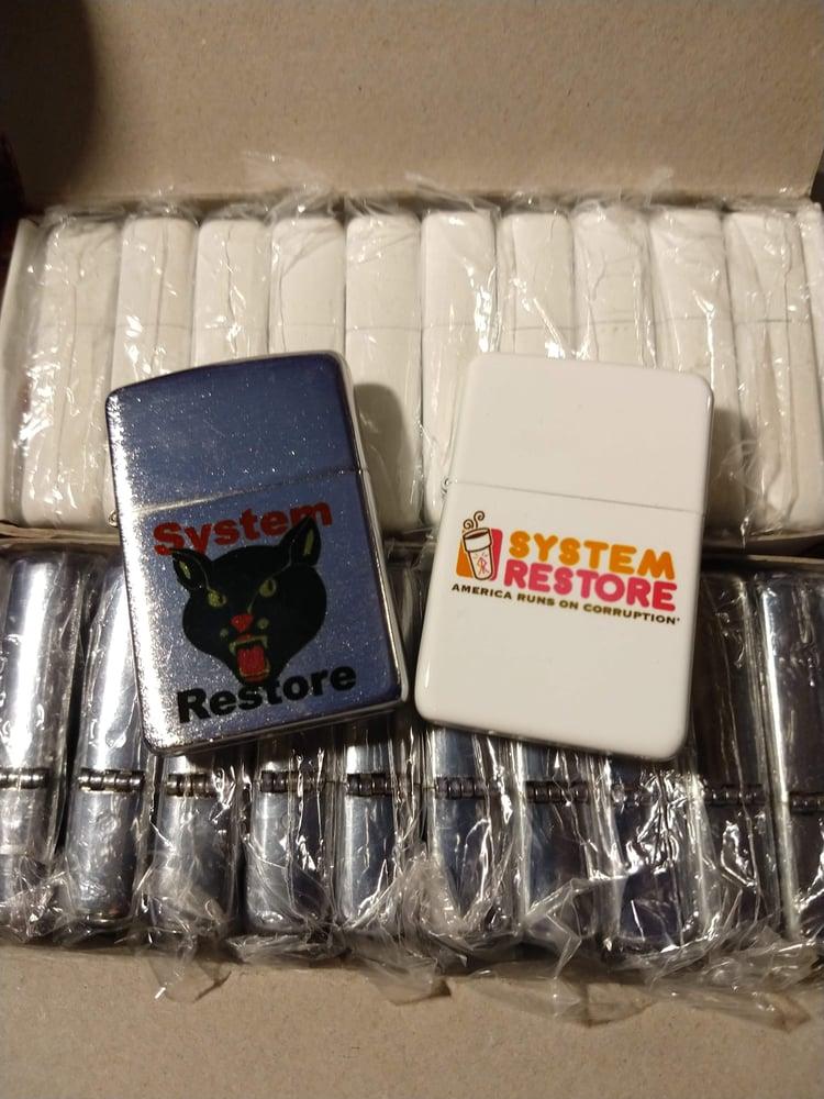 Image of System restore Lighter