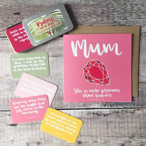 Image of Mother's Day Card and Gift Bundle