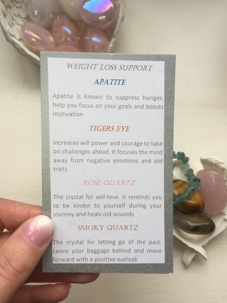 Image of Weight Loss Support Crystal Set
