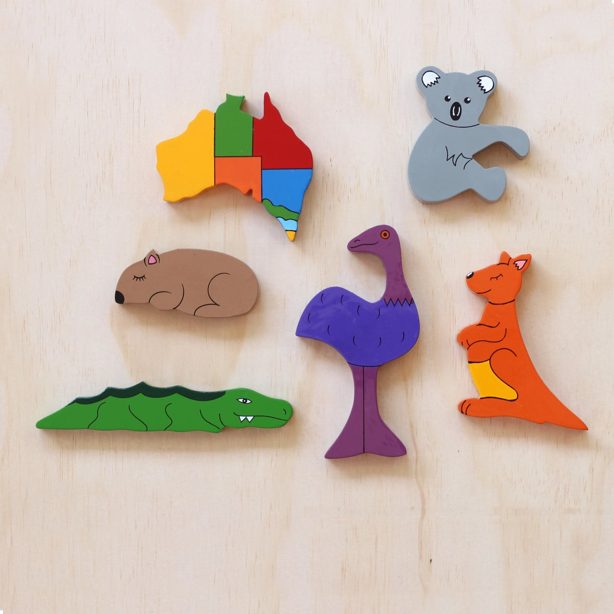 Image of 6 Piece Magnet Set