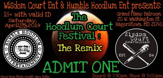 Image of Hoodlum Court Festival: The Remix TICKET