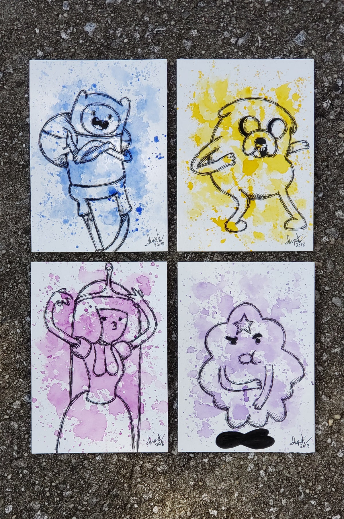 Image of Adventure Time with Finn & Jake Character set